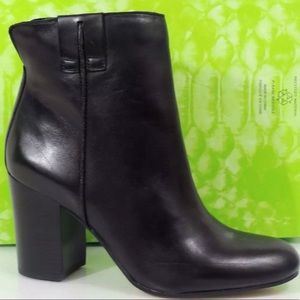 Sam Edelman Fairfield Leather Ankle Boots Size 5